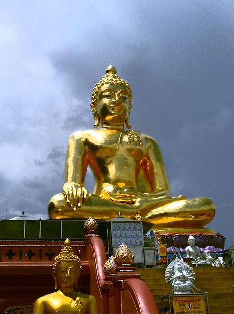 le bouddha or