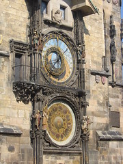 Clock tower in Prague (mitko_denev) Tags: prague praha czechrepublic