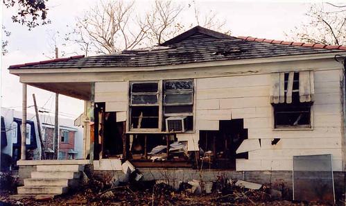 Broken house
