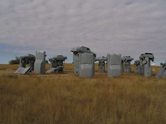 Carhenge, Alliance, Nebraska (Ken Lund) Tags: nebraska greatplains scottsbluff carhenge chimneyrock