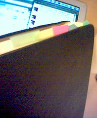 The Colorful Tabs of My Moleskine