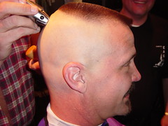 Shaving the High & Tight (Flatboy) Tags: haircut high smooth shaved bald shave tight