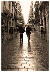 Today was a rainy day (.Vega) Tags: barcelona autumn topf25 monochrome rain topv111 spain been1of100 topc50 catalonia eps1 eps2 rainy great6 topv777 catalunya great5 eps3 vega eps4 great1 great4 great2 almost1 great3 blancinegre eps5 eps6 great7 espaayportugalseleccin