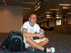 Waiting (DanishNorwegian) Tags: lund airport waiting australia jorn