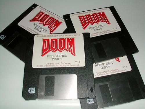 Doom Install Disks
