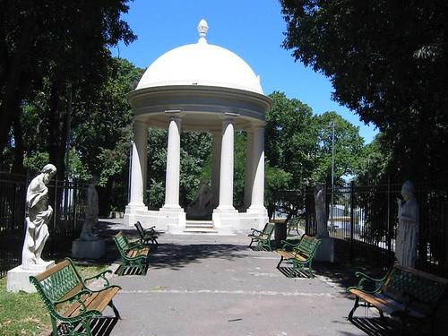 Parque Lezama, San Telmo, Buenos Aires, Argentina