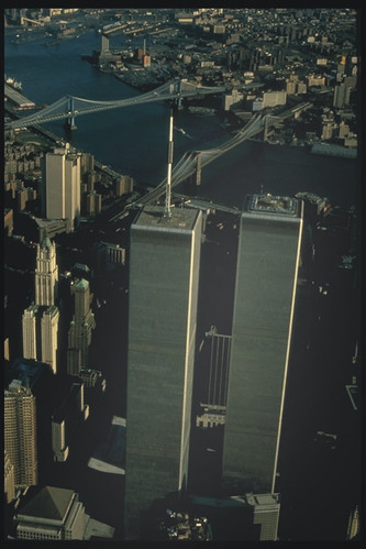 World Trade Towers aerial