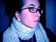modeling my scarf