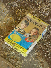 You Did It! (SNWEB.ORG Photography, LLC.) Tags: old abandoned yellow closeup architecture kids breakfast wasted mi neglect vintage children found break artistic zoom o box good decay interior g