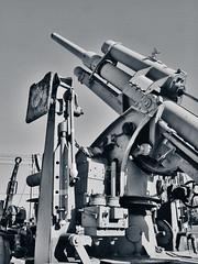 EIGHTY-EIGHT (cutangus) Tags: gun 88 antiaircraft artillery can