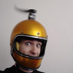 LED POV Helmet