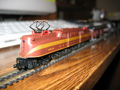 The classic GG1 (AviatorDave [admin'ed by gailatlarge]) Tags: 2005 electrictrains ngauge hobby train model railroad toys gg1
