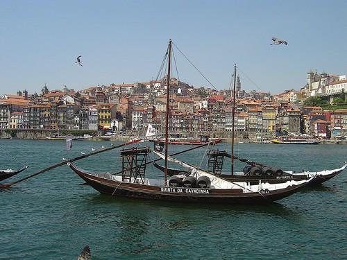 Barco Rabelo - foto da autoria de Portuguese_eyes
