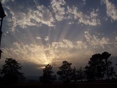 the sun (Cyprus) (fluffballs) Tags: sun sunset clouds beam sunbeams wow