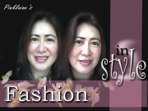 "FASHION IN STYLE ""PINKLAINE"""
