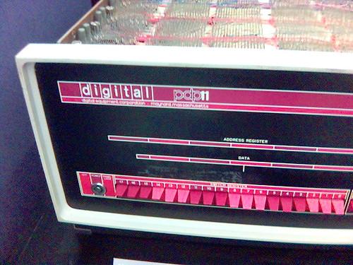 pdp/11 -- museum history mav computer aol pdp