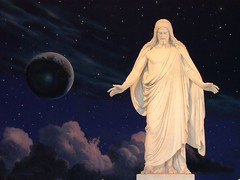Christus Statue - Salt Lake City, UT (MatthewPHX) Tags: utah christ saltlakecity mormon templesquare interestingness470 i500