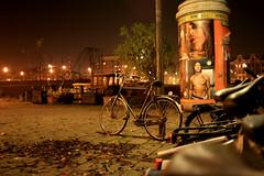 Bicycle by night (Caroline) Tags: amsterdam night amsterdambynight