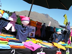 1083-clothes stall (shimmertje) Tags: new zealand 204 queenstown