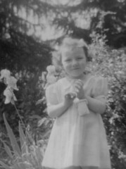 Mum as flower girl