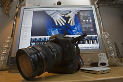 297 (Carlos Noboro) Tags: camera apple canon lens mac aperture ipod canonef2470mmf28lusm canoneos5d applecinemadisplay