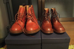 DSCF1220.JPG (heydays) Tags: shoes trickers brown