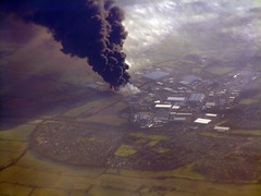 Fuel Depot Explosion - Airborne Capture I - Sent to & used on BBC & CNN websites (silyld) Tags: uk cloud london fire flying ominous smoke topv1111 explosion 100v10f fromabove hempstead flame 2550fav disaster oil depot topv777 ryanair airborne topv3333 blast aerialphotography journalism hertfordshire hemel fuel 1025f ugc plume citizenjournalism hemelhempstead usergeneratedcontent scoopt 11122005 buncefield oildepot fueldepotexplosion december11 oildisaster oildepotexplosion fr903 interestingness24 i500 hertfordshireoilstorageterminalfire buncefieldoildepotexplosion 11thdecember2005 hertfordshireoilstorageterminal daveotway davidotway