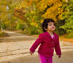 Life's Good ;) (Ali Brohi) Tags: park vacation cute fall female forest newjersey kid child natural state nj magenta seher seedingchaos moazzambrohicom httpwwwmoazzambrohicom wwwmoazzambrohicom
