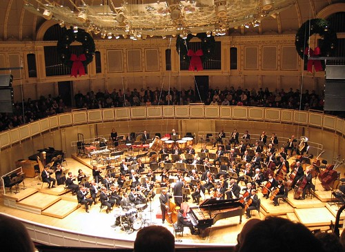 Chicago Symphony Orchestra, featuring the Marcus Roberts Trio by jordanfischer.