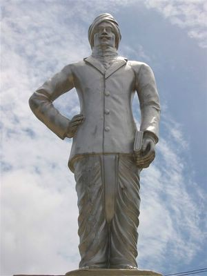 Mahakavi Bharathiyar, in Nallur, Jaffna