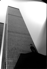 World Trade Center + Church 1983 by bfraz, on Flickr