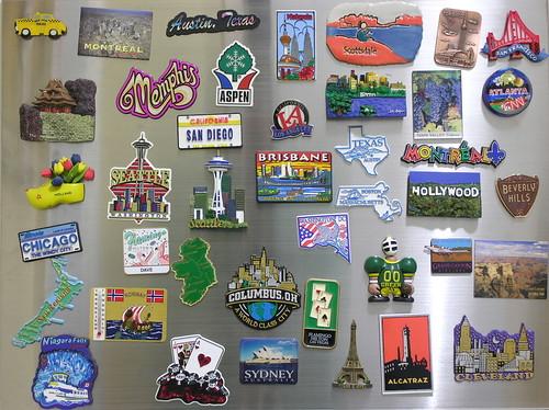 dave gorman my international fridge magnet collection
