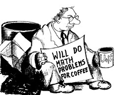 The Mathematicians Life (mazelb) Tags: coffee comic mathematics mathematic