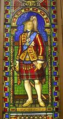 Bonny Charlie's noo awa' (Seoirse) Tags: bonny charlie prince stuart young pretender stained glass 1840 scotland jacobite