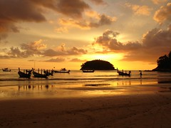 Sunset on Kata Noi Beach Photo credit: mst7022