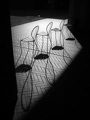 (Masahiko Kuroki (a.k.a miyabean)) Tags: chair bw