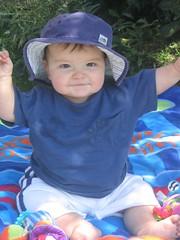 Simon at six months