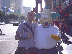 Krusty (Oliver Wilke) Tags: krusty clown simpsons homer bart hollywood la los angeles california walk fame summer usa west coast