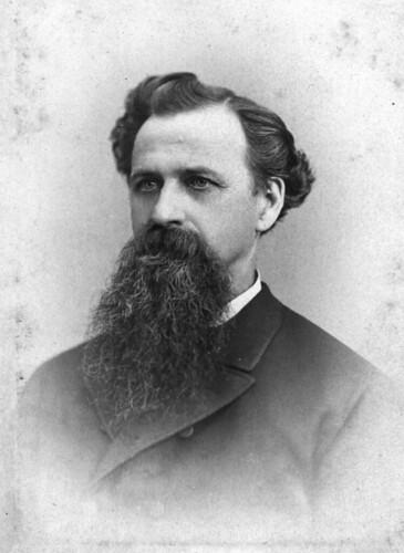 Dickens-style beard