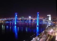 Main Street Bridge - Jacksonville, Florida (Night)
