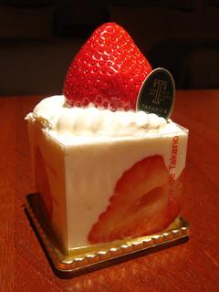 Strawberry Cake from Takano's (Shibuya Station Tokyu Foodshow)