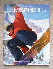 HEMISPHERES by UNITED ((^_~) [MARK'N MARKUS] (~_^)) Tags: magazine 100v inflight united flight airline snowboard ual ua unitedairlines hemispheres inflightmagazine
