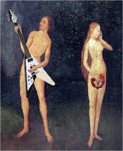 Hieronymus Bosch - adam & eve rock by oddsock, on Flickr
