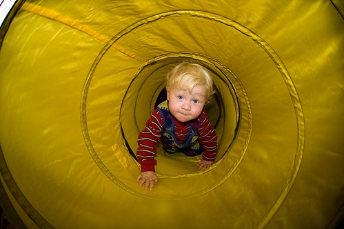 Mathew in a Tunnel