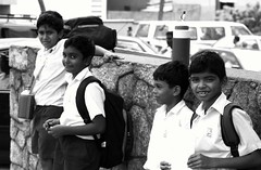 Schoolboys (fiat.luxury) Tags: street school boys uniform sri lanka childrenofsrilankabw