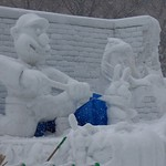 Sapporo Snow Festival - Wallace and Gromit