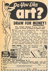 Do You Like Art? (dogwelder) Tags: art magazine simpsons september advertisement moe zurbulon6 1959 zurbulon gatturphy lausd mechanixillustrated beanartist washingtonschoolofart referencepic
