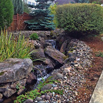 "Water feature, creek, stream, waterfall, landscaping, landscape <a style=""margin-left:10px; font-size:0.8em;"" href=""http://www.flickr.com/photos/117326093@N05/17734593064/"" target=""_blank"">@flickr</a>"