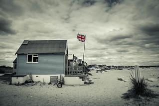 A British beach