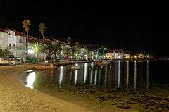 Przystań nocą | Bay at night